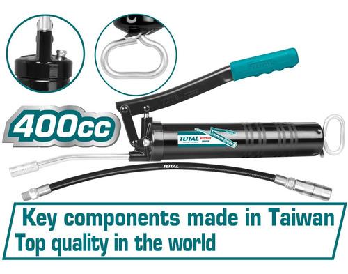 Engrasadora Manual Tipo Pistola Total Tools/400cc/4500psi