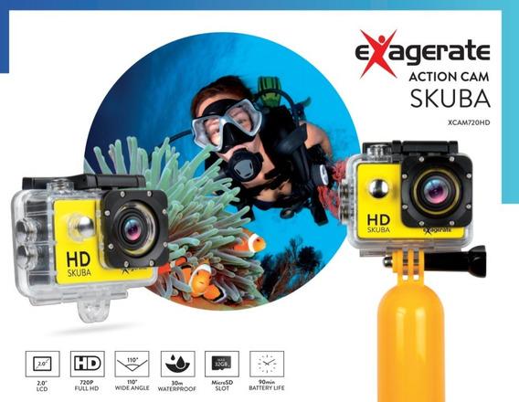 Exagerate Action Cam Skuba - Câmera Aquática