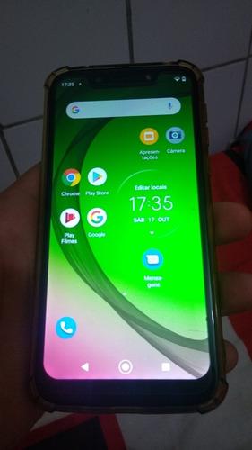Moto G7 Play Dourado  8 Meses De Uso