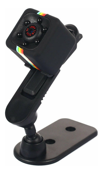 Sq11 Mini Câmera Preto