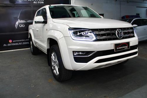 Volkswagen Amarok Highline Pack At 4x2 2018 14.000km Blanco