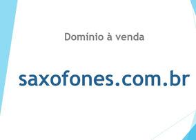 Domínio Saxofones.com.br