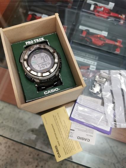 Relogio Casio Protrek 2500t-7cr Completo.