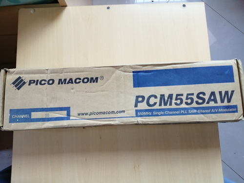 Modulador Pico Macom 550 Mhz Pcm55saw 10 Y 20