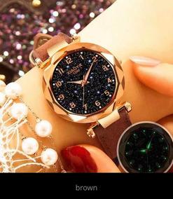 Relógio Feminino Luxo Barato Modelo Xy1290 + Pulseira Trevo