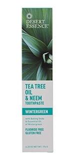 Desert Essence Natural Tea Tree Oil Toothpaste - Neem, Winte