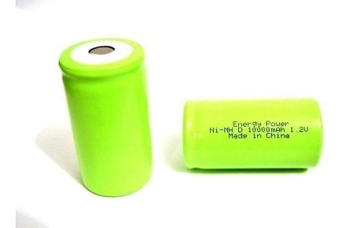 Bateria Tamanho D 10000mah 1,2v Ni-mh Energy Power (33x60mm)
