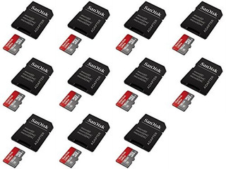 11 X Cantidad De Lg G Pad F7.0 16gb Micro Sd Tarjeta De Memo