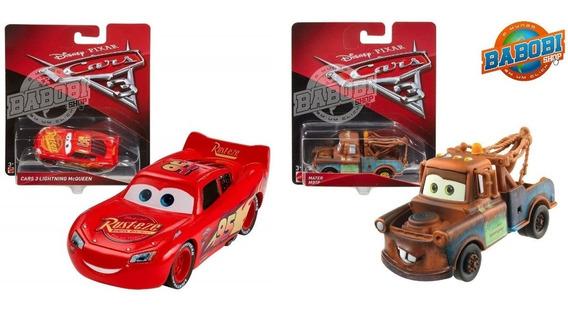 Disney Cars 3 Kit Mcqueen + Mater Mattel Tenho Jackson Storm