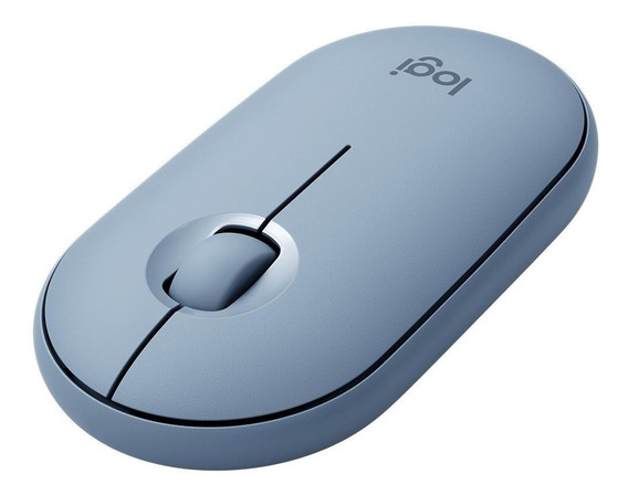 Mouse Sem Fio Logitech Pebble M350 Unifying Azul