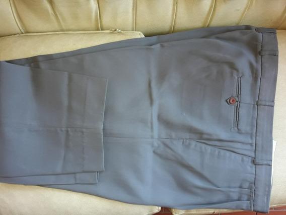 Pantalon Vestir Hombre Talle 60 Color Gris Caballero