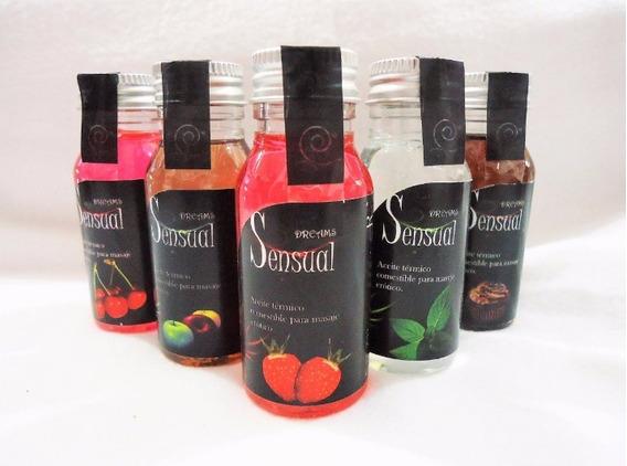 Aceite Y Lubricante Termico Sensual 35ml Envio Gratis