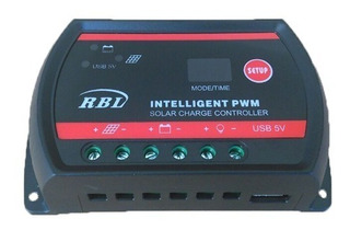 Controlador Rbl Carga Solar Pwm Inteligente 30a Frete Grátis