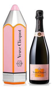 Champagne Veuve Clicquot Brut Rose Estuche Pencil