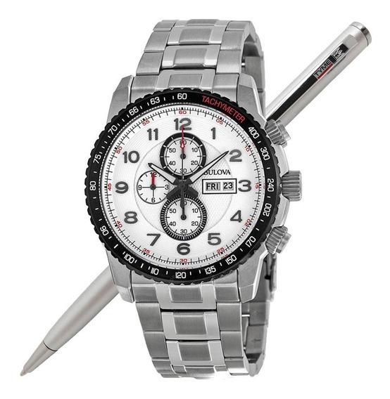 Relógio Bulova Masculino Marine Star Wb31667q *98c114 C/ Nfe