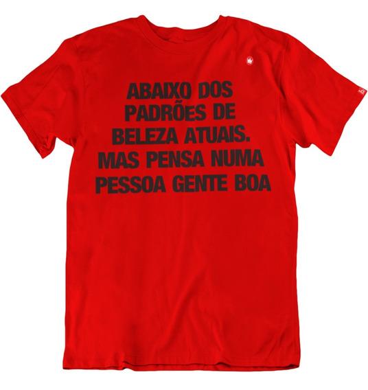 Camiseta Frase Abaixo Padroes De Beleza Atuais Frete Gratis