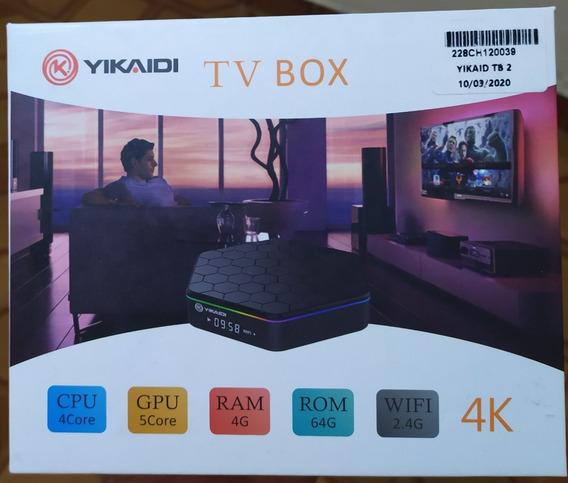 Tv Box 4gb De Memória Ram 64 De Memória Interna Aparelho Top