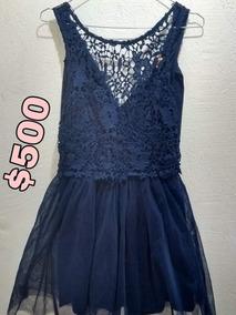 Vestido Azul María Regna