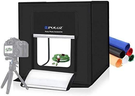 Photo Box Estúdio Fotográfico 40cm Profissional Puluz Pu5040