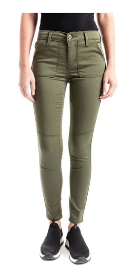 Jeans Denizen® Mujer Verde Ankle Jogger Army Green