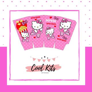 Tarjetas De Invitacion De Hello Kitty Para Bautismo En