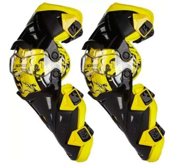 Rodilleras Scoyco K12 Articuladas 4 Pivot - Cuotas
