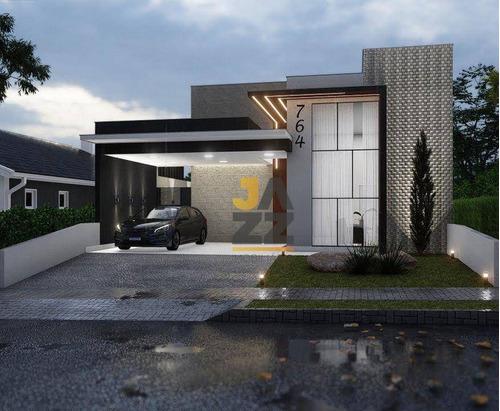 Imagem 1 de 18 de Casa Com 3 Dormitórios À Venda, 150 M² Por R$ 790.000,00 - Condomínio Jardim De Mônaco - Hortolândia/sp - Ca14421
