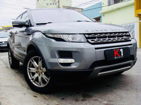 Land Rover Evoque 2.0 Pure 2013 Cinza Interno Bege
