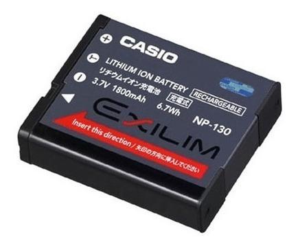 Bateria Casio Cnp-130 Cnp 130 Np-130 Np 130 Ex-h30 Ex-h30bk