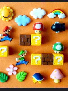 Imanes De Mario Bross 20 Piezas