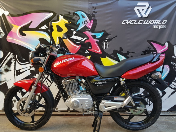 Suzuki En 125 0km 2019 Cycle World Llevala Ya 22/02