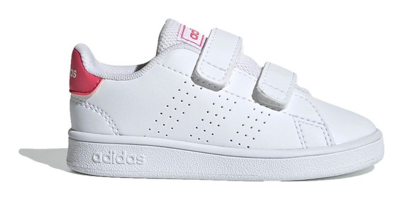 adidas Zapatillas Lifestyle Niña Inf Advantage I Blanco