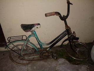Bicicleta Antigua Monark Rodado 16 A Restaurar $2000