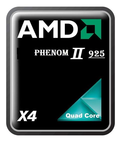 Proces. Phenom Amd I I X4 925 2.8ghz Quad Core Lga Am2+/am3