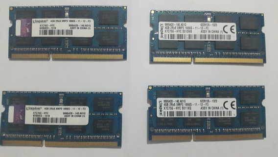 Memoria Kingston 4gb/ Ddr3/ 1866mhz/ Pc3-14900 - P/ Notebook