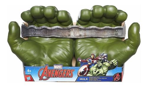 Puños Guantes   Manos Hulk Vengadores Avenger  Hasbro