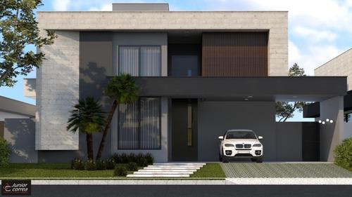Casa Com 3 Dormitórios À Venda, 243 M² Por R$ 2.400.000,00 - Condomínio Quinta Do Golfe Jardins - São José Do Rio Preto/sp - Ca8583