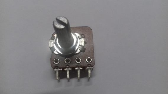Potenciômetro Duplo Stereo B100k 100k P/ Gradiente