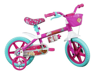 Bicicleta Barbie Aro 12 Caloi