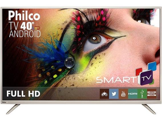 Smart Tv Led 40 Philco Full Hd Com Conversor Digital - Wifi
