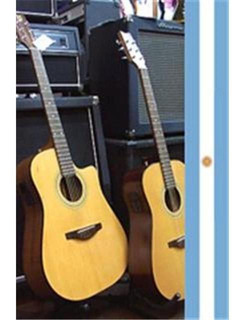 Guitarra Electroacústica Antigua Casa Nuñez Corte Eq