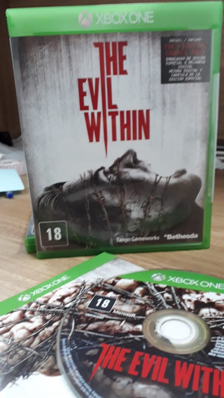 The Evil Within Original Midia Fisica Completa P/ Xbox One