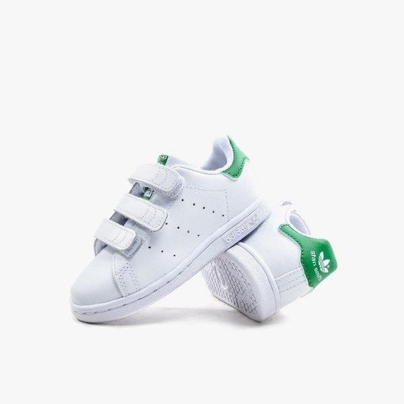 Tenis adidas Stan Smith Niño Con Velcro Originals Superstar