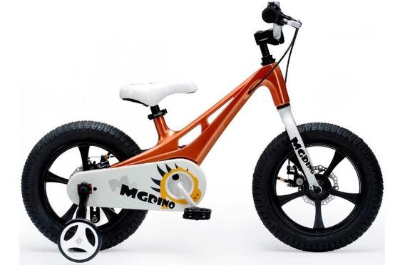 Bicicleta Niños Royal Baby Mg Dino Rod 14 Magnesio Ligera