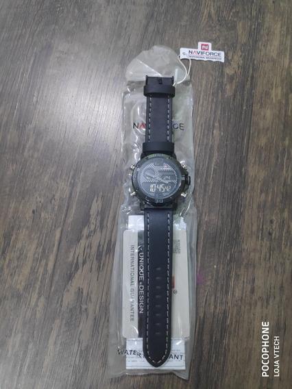 Relógio Masculino Naviforce Militar Quartzo