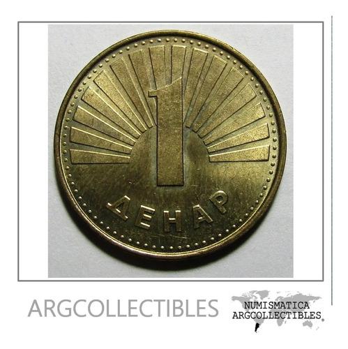 Macedonia Moneda  1 Denar Km#27 2000 Sin Circular
