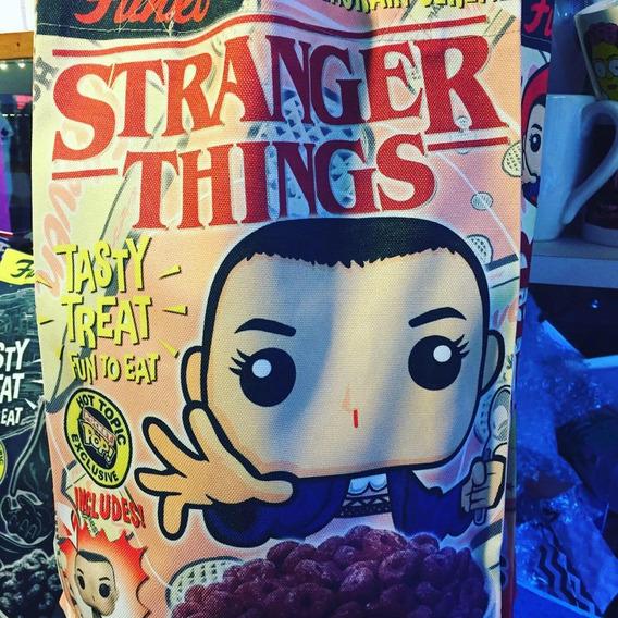 Tote Bag Funko - Eleven. Stranger Things - Purpura Funnyland