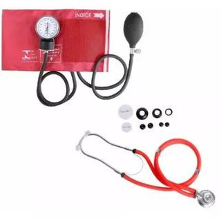 Aparelho De Pressão-kit Esfigmomanômetro+estetoscópio 5cores
