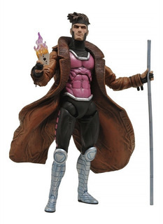 Marvel Select X-men Gambit Diamond Select Robot Negro