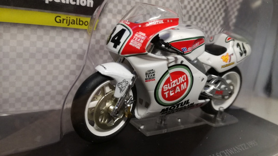 Suzuki Rgv500 1993 Kevin Schwantz Motos Competicion 1/24